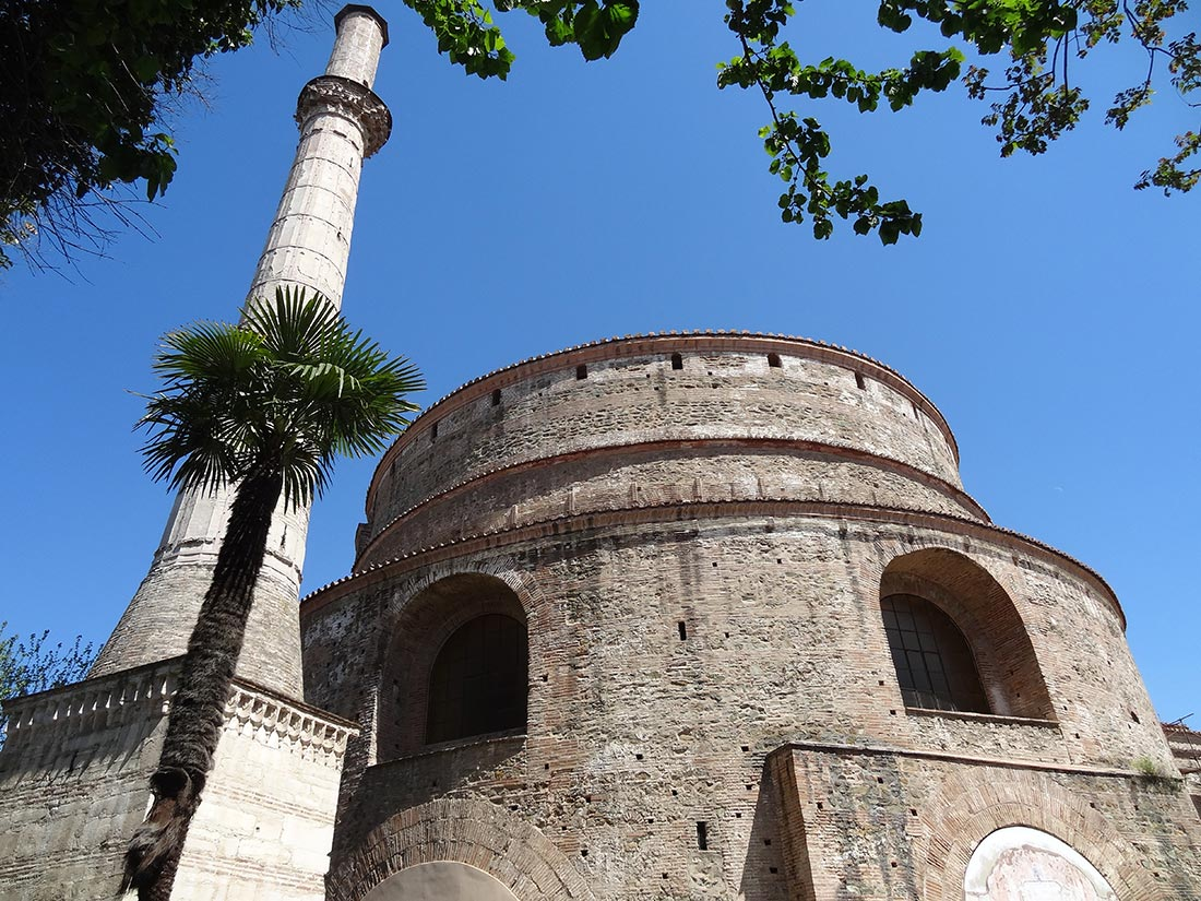 The Rotunda — Thessaloniki — Former mausoleum of Roman emperor Galerius (end of 3d century AD), former mosquee, now St Georges church