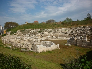 Hellenistic theatre in Larissa (Thessaly)