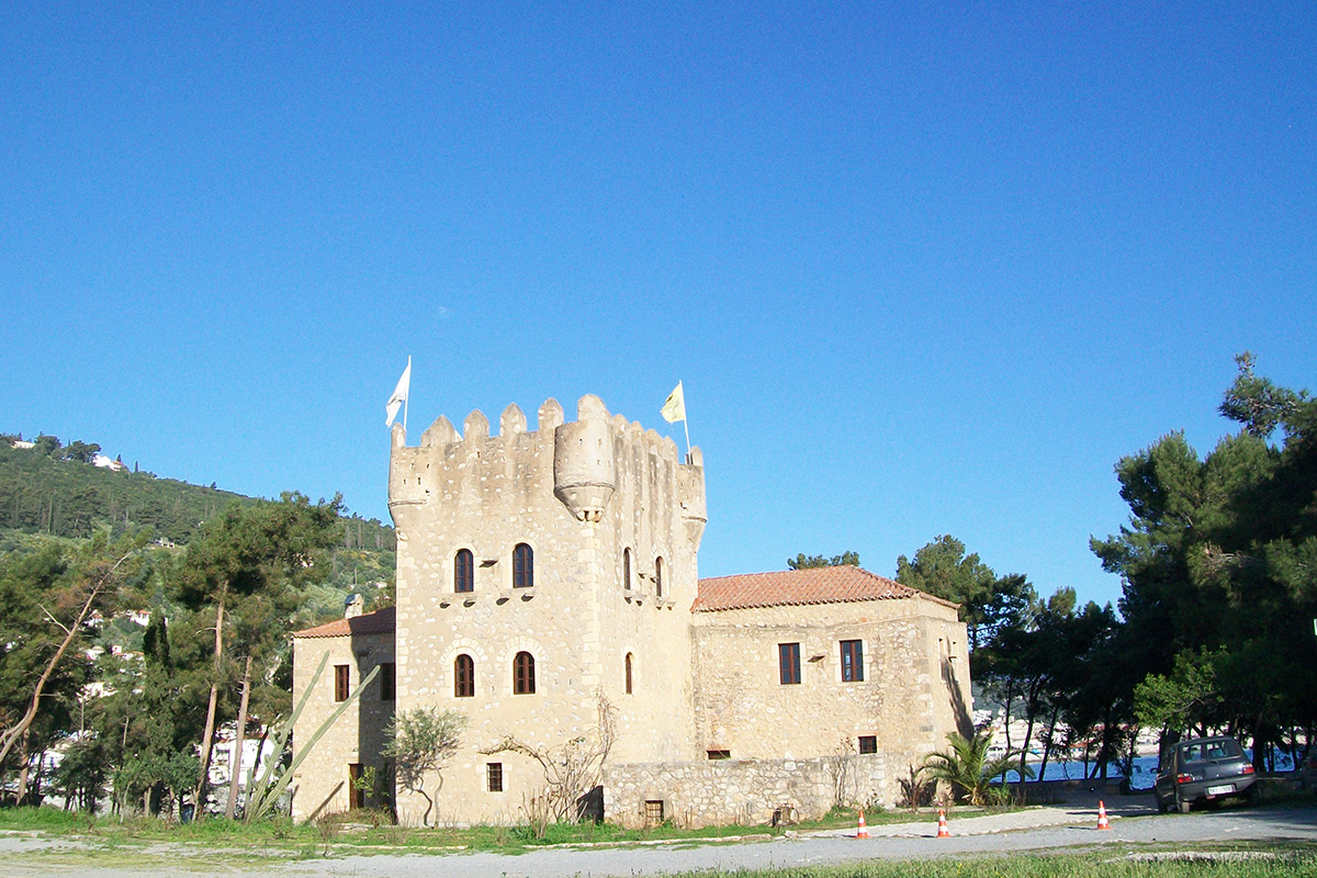 Ancien fort ottoman de 1780. Gythion, Péloponnèse.