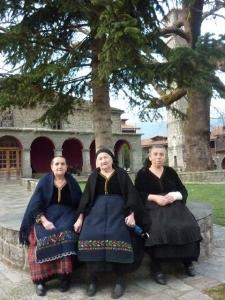 Femmes valaques de Metsovo.