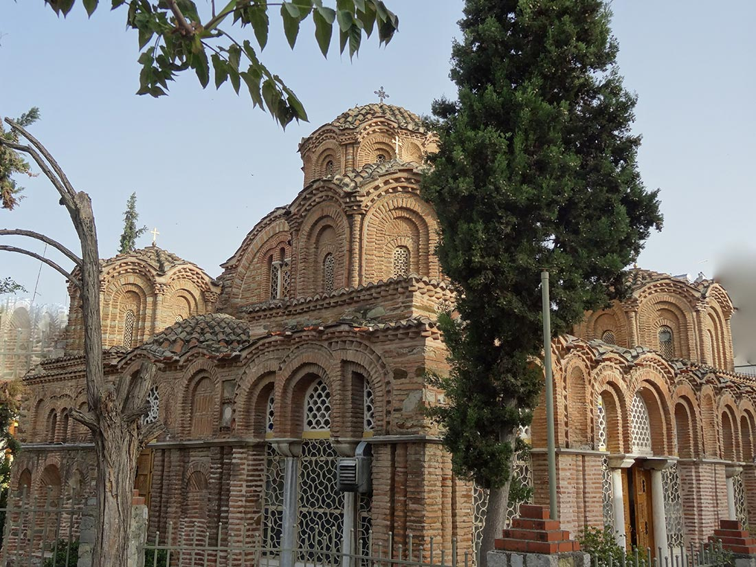 Saint Catherine church ( 13th century). Thessaloniki