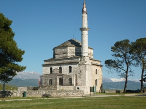 Mosque of Aslan Pasha (beginning of the 17th century ) in the citadel of Ioannina.