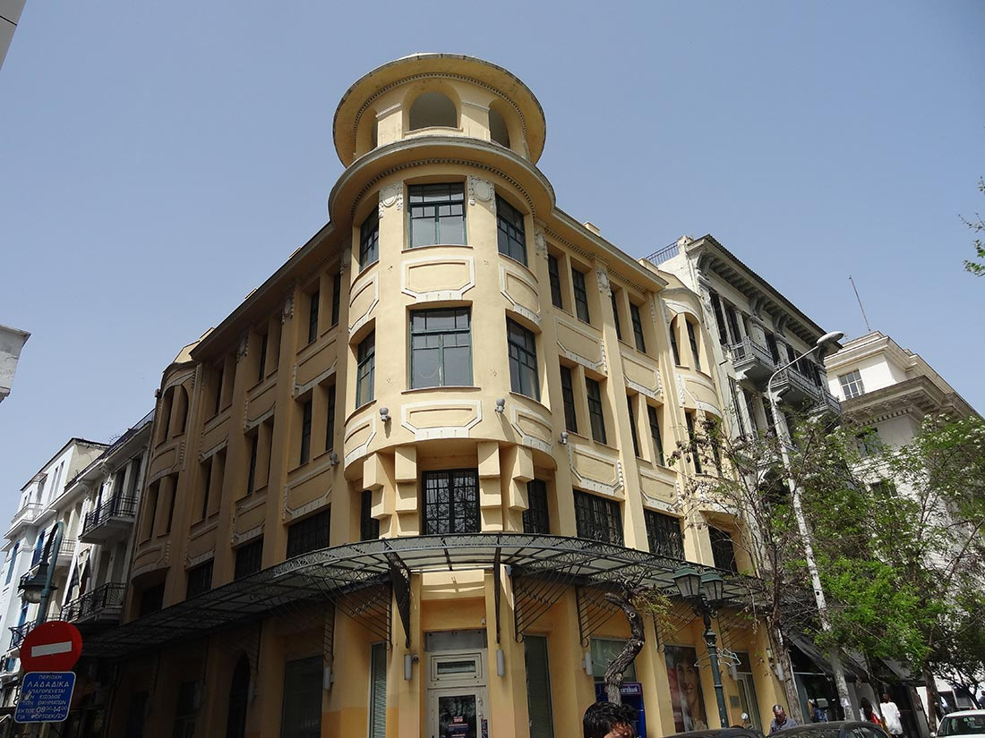 Building of the 19th century. Ladadika's quarter (oil merchants). Thessaloniki