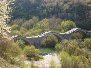 Pont de Kaloyeriko à Kipi. Région des Zagoria. Epire.