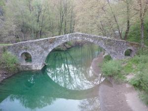 Pont de Kamber Aga à Miliotadès. Zagoria.