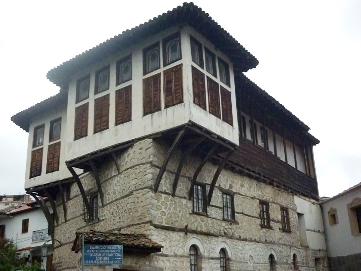 Balkan mansion of Kastoria.