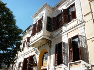 Old mansion of tobacco trader at Xanthi. Thrace.