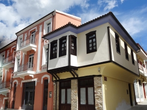 Maisons restaurées à Polygyros