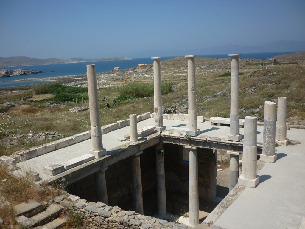 House of Hermes. Island of Delos.