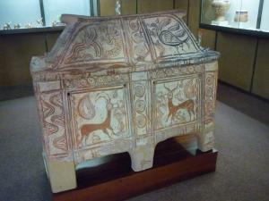 Larnaka minoen. Musée de Réthymnon.