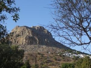 Mégalo Chorio. Tilos, Dodécanèse.