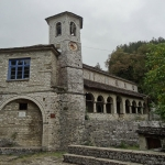 Church of St Nicolas at Kipi : typical shape in Zagori.
