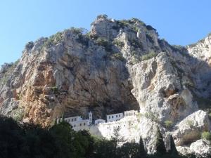 Monastère St Nicolas Sitzas près de Léonidion, Péloponnèse