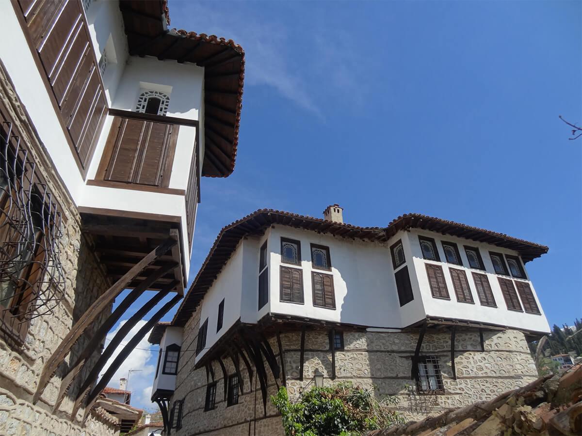 Maison balkanique de Kastoria.