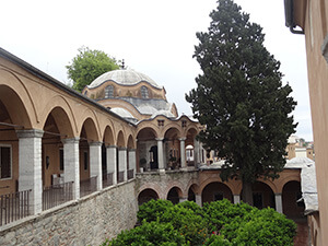 Imaret, old ottoman poorhouse converted into luxury hôtel. Kavala.